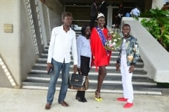 Arrivée à Abidjan de Awa Sanoko, Miss Model Of The World