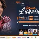 Deborah Lukalu et son orchestre en live pour le concert Double Faveur