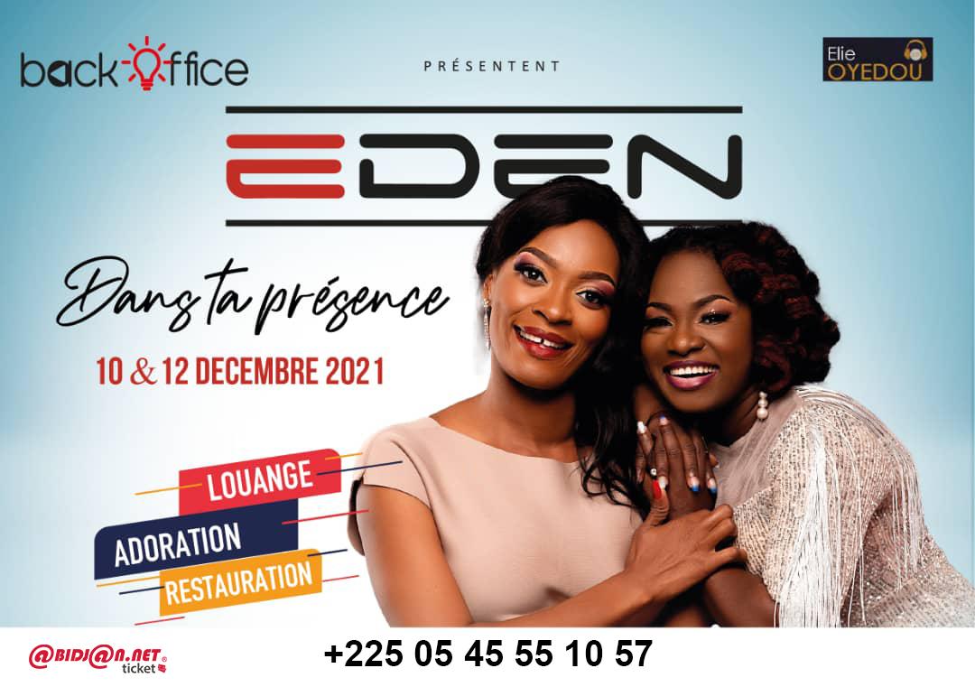 Eden en concert
