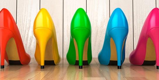 Chaussures: on laisse la place aux couleurs vives