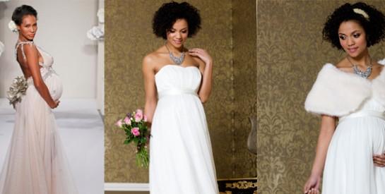 Enceinte : bien choisir sa robe de mariée