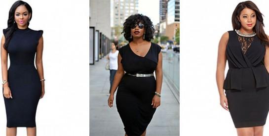 3 étapes pour transformer sa robe noire classique en robe de soirée