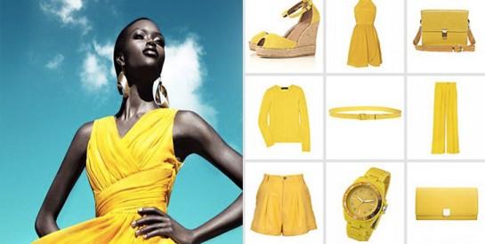 8 looks pour bien porter le jaune avec style