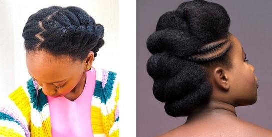 Des idées de coiffures simples et faciles pour cheveuxcrépus