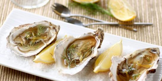 Le zinc contenu dans les huîtres assure une lubrification vaginale chez la femme