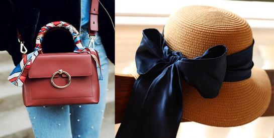 Comment customiser vos accessoires avec un foulard pour booster votre tenue