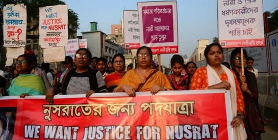 Seize peines de mort pour le meurtre d'une jeune fille en Bangladesh