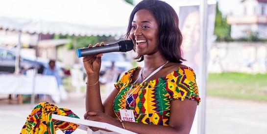 CreActive 1ère édition/Ingrid Eboulé:``Nous voulons, par ce concept, encourager l`entrepreneuriat féminin et l`autonomie de la femme.``