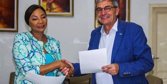 Signature de convention: Les Groupes La Lavandière et LUCIBEL veulent aider les populations à réduire les consommations électriques
