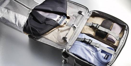 Les secrets d`une valise qui ne froisse pas