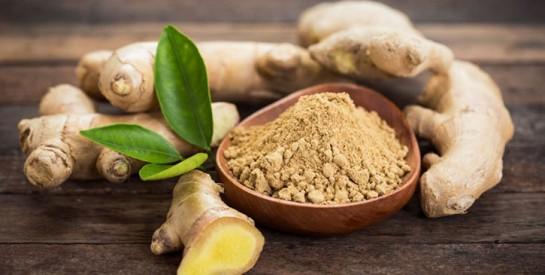 Le gingembre pour réduire les douleurs liées à l`arthrite