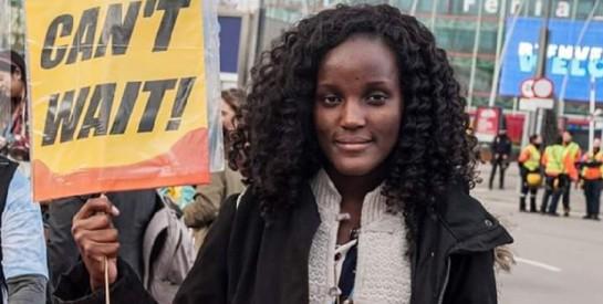 Militante du climat, Vanessa Nakate dénonce une culture photographique ``raciste``