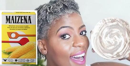 Comment se lisser les cheveux avec de la maïzena