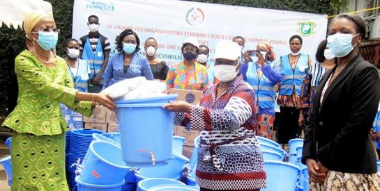 Prévention du coronavirus : Le GOFEHF à l'assaut des marchés des 13 communes d'Abidjan