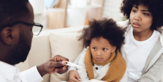Grippe de l'enfant : combien de jours dure la fièvre ?