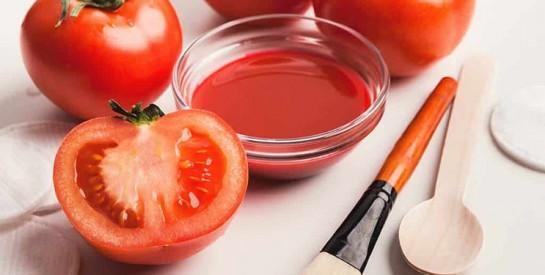 3 astuces beauté avec la tomate pour nettoyer la peau