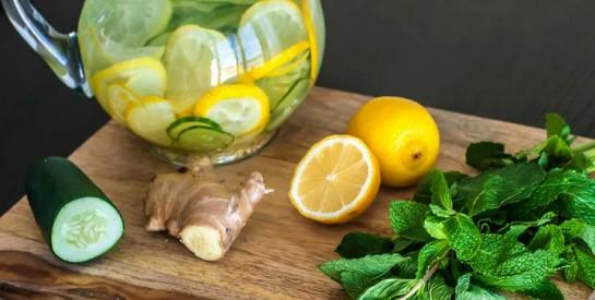 Essayez ce régime de désintoxication au citron, au gingembre et au concombre