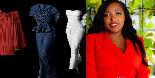 Mode : Anifa Mvuemba, la styliste qui en met plein la vue avec son défilé 3D