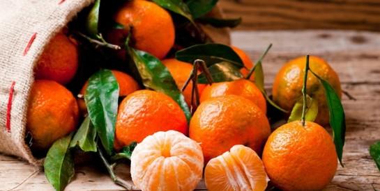 Voici les 6 bienfaits de la mandarine que l'on ignore