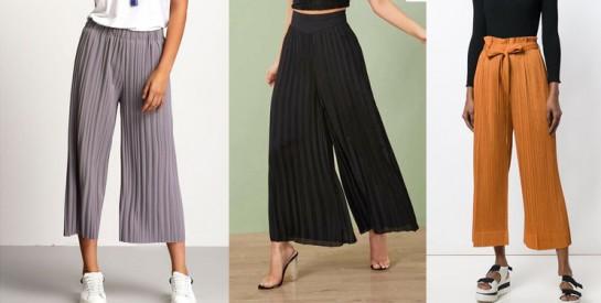 Comment porter le pantalon plissé