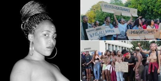 Yolanda Dyantyi: une étudiante sud-africaine pour protester contre le viol se bat