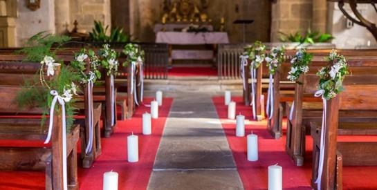 Décoration de mariage à l'église: les critères à prendre en compte
