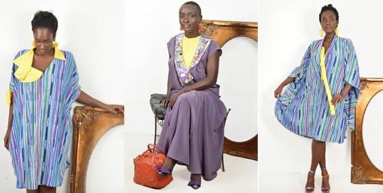 Quand le jaune s'invite dans votre dressing avec la collection étincelle de la créatrice Ella Assoumou
