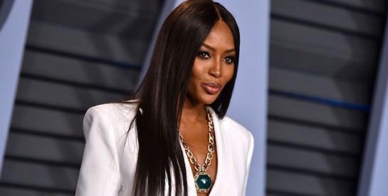 Naomi Campbell, marraine de la mode africaine
