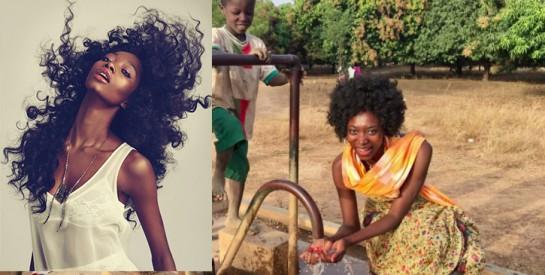 Le combat de Georgie Badiel, ex-miss Burkina, pour l'accès à l'eau