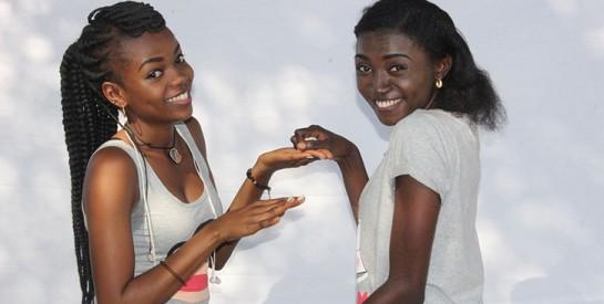 Les Nyotas, duo d'humoristes congolaises, lauréates du prix RFI Talents du rire