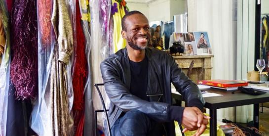 Imane Ayissi: ``Il faut mettre en valeur le vrai tissu africain``