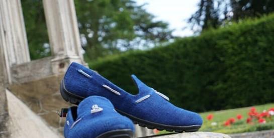 Pine Kazi remporte un prix de la BAD pour ses chaussures écologiques
