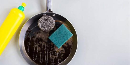 L'astuce pour nettoyer une casserole brûlée