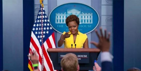 Etats-Unis : Karine Jean-Pierre devient la deuxième femme noire à assurer le rôle de porte-parole de la Maison Blanche
