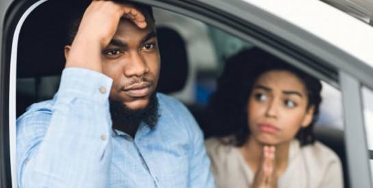 Quand le volant est source de disputes dans le couple