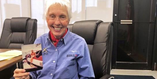Vol privé dans l'espace : Wally Funk, première femme touriste spatiale, à 82 ans