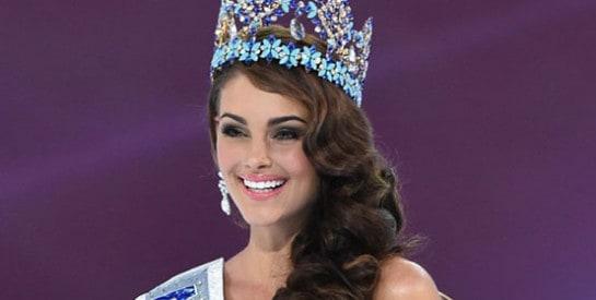 Rolene Strauss, Miss Afrique du Sud, a été couronnée Miss Monde 2014