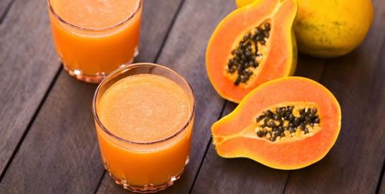 Le jus de papaye et de citron pour détoxifier l'estomac