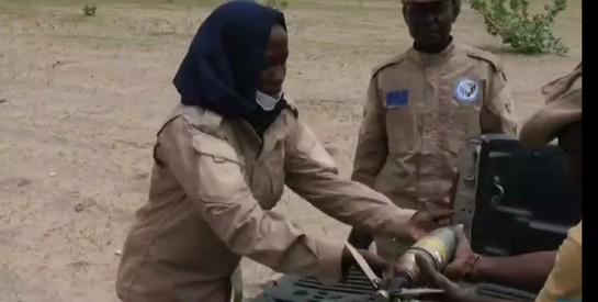 Tchad : rencontre avec la première femme démineuse du pays