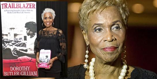 Dorothy Butler Gilliam, première femme noire journaliste au Washington Post : ``je ne suis pas une femme de chambre``